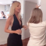 Bernadette Fahey dancing to Trap Beckham's Birthday Chick.
