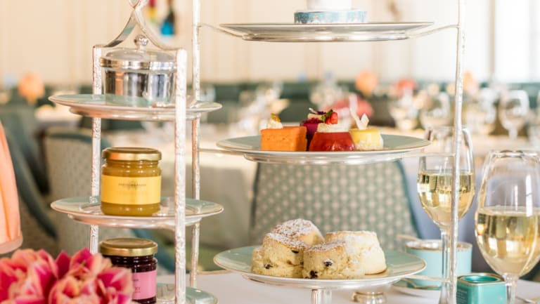 Fortnum & Mason are hosting a champagne afternoon tea during the live broadcast of the royal wedding.