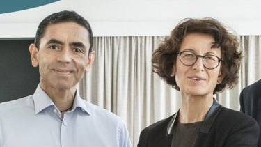 In its early years BioNTech, founded Dr Ugur Sahin and Dr Özlem Türeci, was mostly focused on cancer treatments.