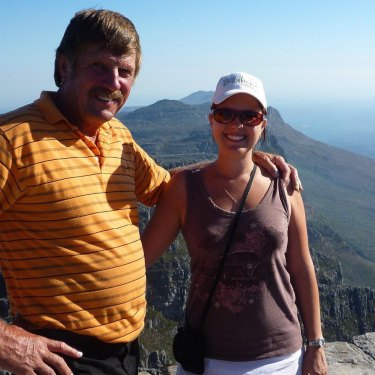 Mr Jensen and Ms Willemer in South Africa.