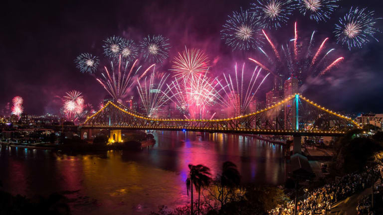 The banks of the Brisbane River will swell with crowds as Riverfire celebrates its 21st year.