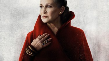 Carrie Fisher is slated to reappear in the current film.
