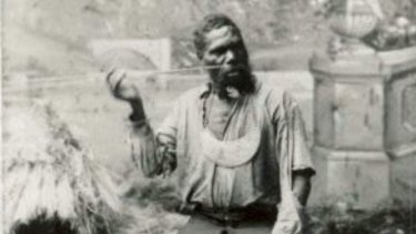 """""""King Billy"""" Turner, known as the King of the Lockyer Valley."""