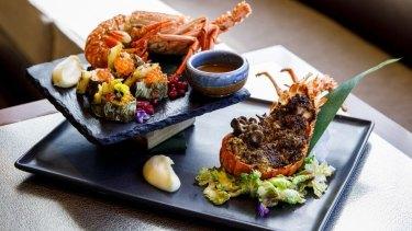 The lobster at Nobu in Perth.