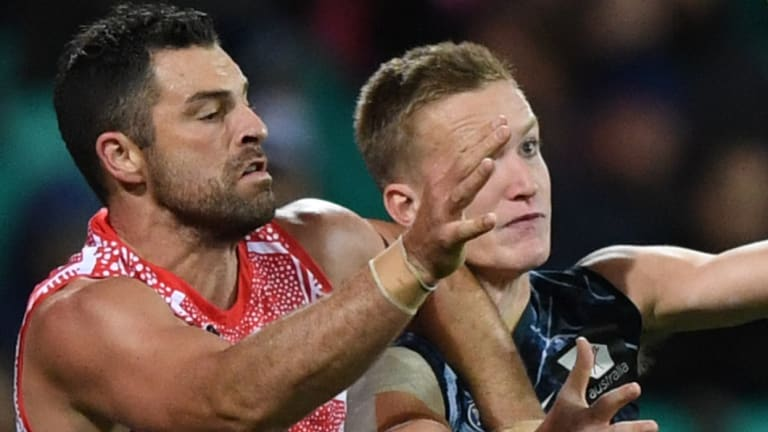 Revitalised: Heath Grundy is refreshed after taking two weeks off to focus on his mental health.