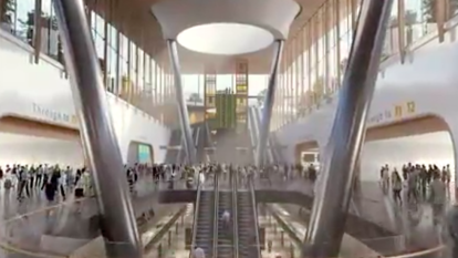 Melbourne Airport rail line to soar high over Maribyrnong River