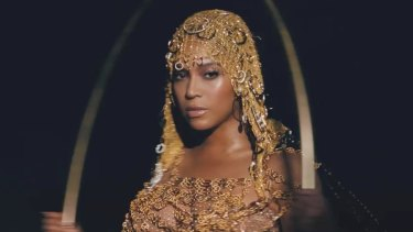 Beyonce in her new visual album, Black Is King.