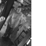 CCTV footage captured of a man police want to speak to in relation to the theft.