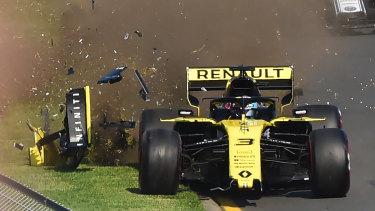 It was a disaster for Daniel Ricciardo in Melbourne.