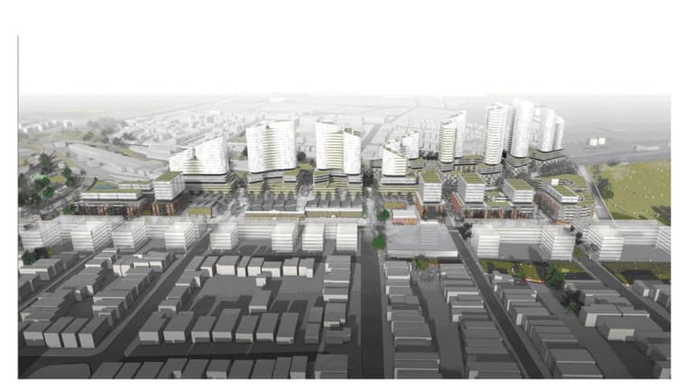 An artist impression of the proposed development in Marrickville.