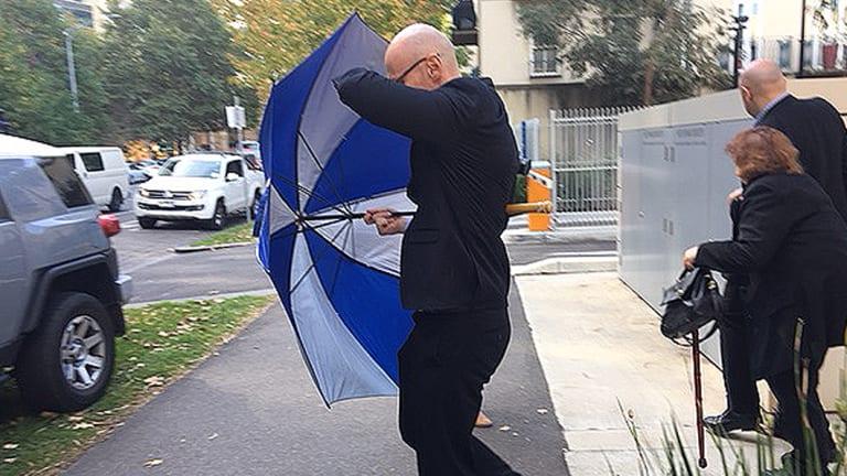 Dragi Stojanovski leaves the Coroners Court in April.