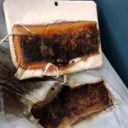 Device burn.