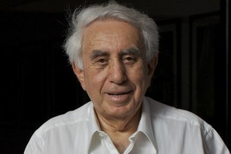 Billionaire developer and Wests Tigers fan Harry Triguboff.