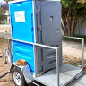 'Portaloo' shower solution in Perth backyard leaves grandmother 'ashamed, in fear'
