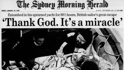 From the Archives, 1997: Yachtsman Tony Bullimore defies death
