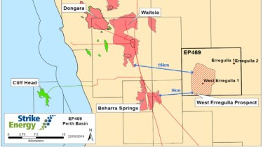 The find is 300km north of Perth.