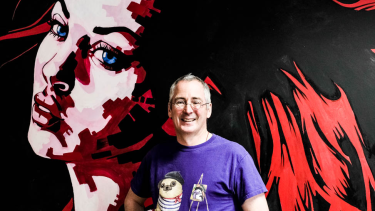 Redbubble co-founder and chief executive officer, Martin Hosking.