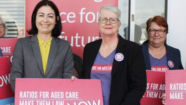 Labor's candidate for Griffith,  sitting MP Terri Butler (left).
