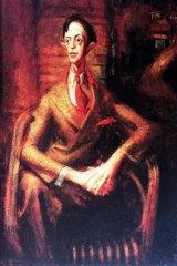 William Dobell's 1943 painting of Joshua Smith.