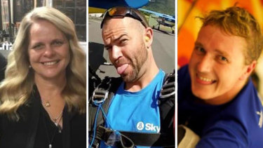 Kerri Pike, Peter Dawson and Toby Turner all died in the collision.