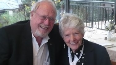 Rex and Moira Haysom,