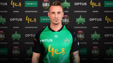 Keeping pace: South African quick Dale Steyn has signed with the Melbourne Stars in the Big Bash League.