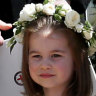 Robbie William's daughter in royal party for Princess Eugenie's wedding