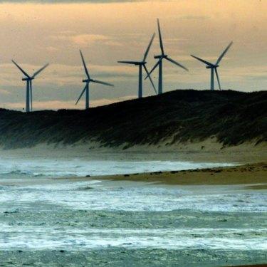 A wind farm outside Port Fairy in Victoria.