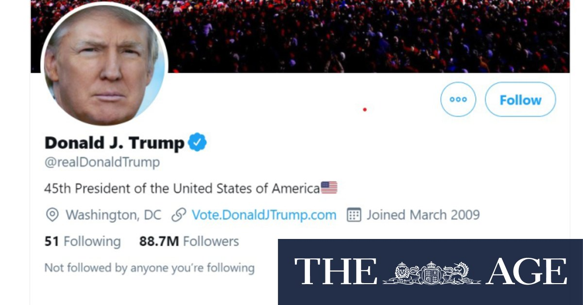 Image of article 'Big Tech turns up the heat on Trump followers with Parler suspension'