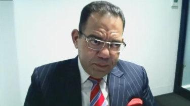 Allegedly corrupt former Casey mayor Sam Aziz at IBAC