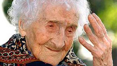 The oldest woman ever was Jeanne Louise Calment of France was born in 1875 and lived 122 years and 164 days. She died on August 4, 1997.