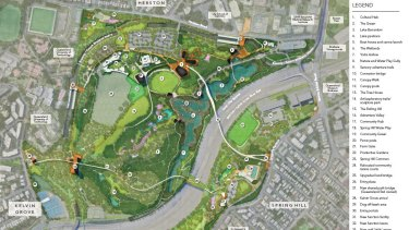 The Victoria Park masterplan draft was released to include three ideas brought forward by community members.