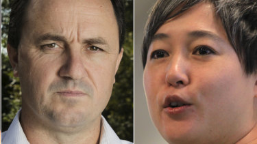 Jeremy Buckingham and Jenny Leong.