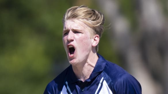 Teenage star Sutherland sidelined with back stress fracture