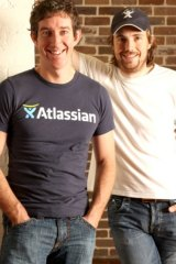 Rich Lister's: Atlassian co-founders Scott Farquhar and Mike Cannon-Brookes.