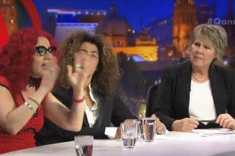 Mona Eltahawy, Hana Assafiri and Fran Kelly on Q&A.