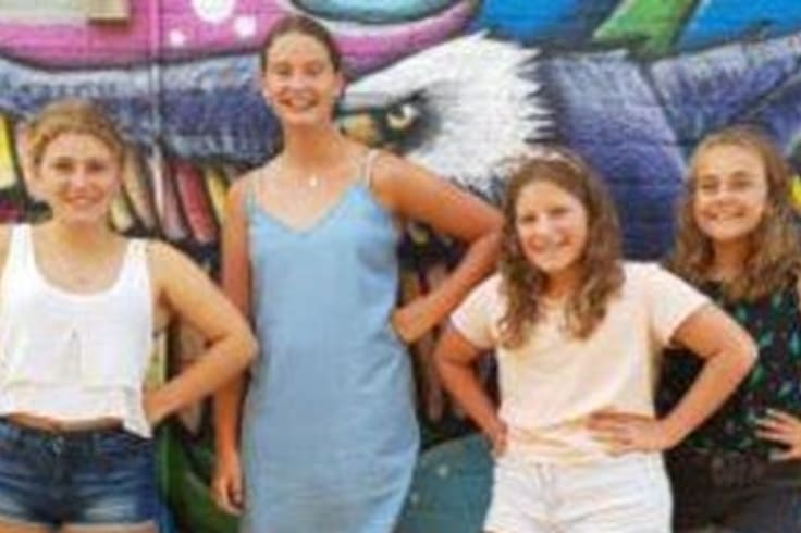 Teen Hub at Artspace is a school holiday program perfect for teen girls.