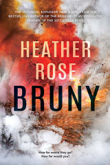 Heather Rose's Bruny is a political satire.