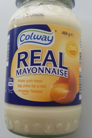 Aldi has recalled Colway Real Mayonnaise from all its stores due to faulty packaging.