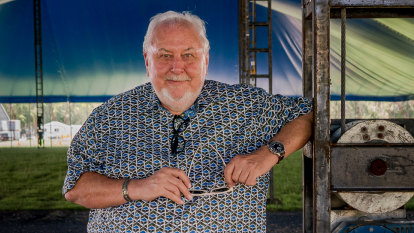 Bluesfest owner Peter Noble: 'I don't want to have to sell my event'