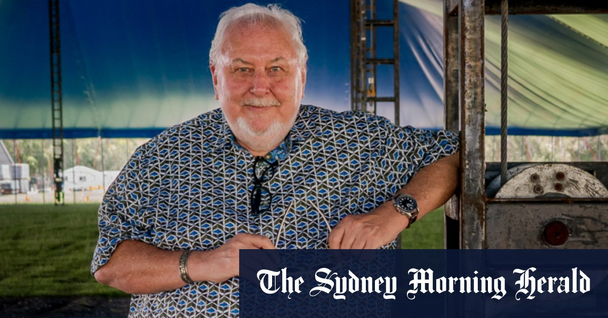 Bluesfest owner Peter Noble: 'I don't want to have to sell my event' – Sydney Morning Herald