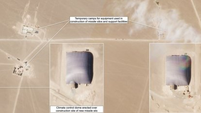 'Most significant expansion': China builds nuclear missile silos in desert