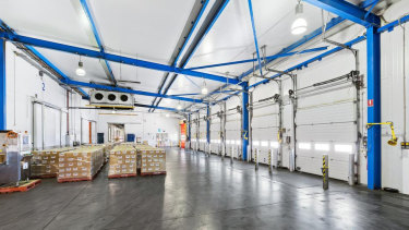 Vincent Cold Storage will upsize after taking a 5-year lease over an 8655 sq m cold storage property.