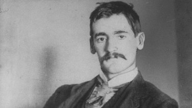 Poet, author and wife-beater Henry Lawson.