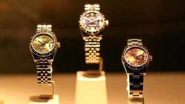 People are cashing in their Rolexes to benefit from the higher gold price.