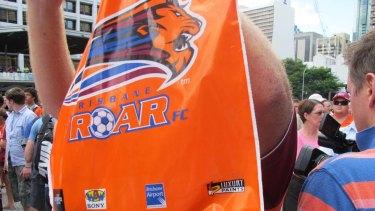 As sea of orange sweeps through Brisbane as Roar fans turn out to see their heroes.