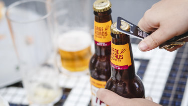 Gage's Single Fin Summer Ale is the fastest-growing craft beer brand in Australia.