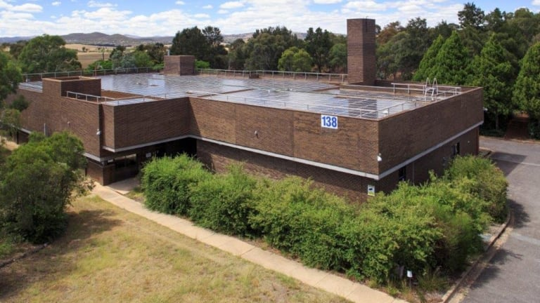 The site at 150 Narrabundah Lane, Symonston, which was home to IT services provider Digital Digest Data Design.