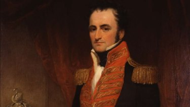 First governor of Western Australia, Captain James Stirling.