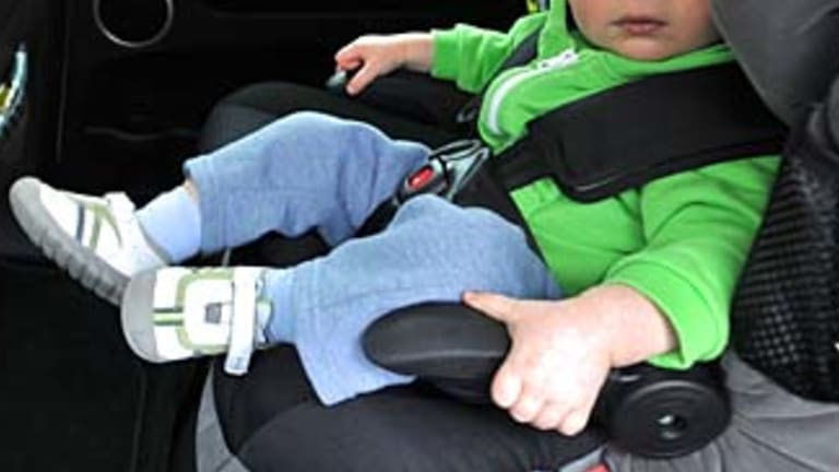 With a child in our family turning seven, we had to check the law around child restraints.